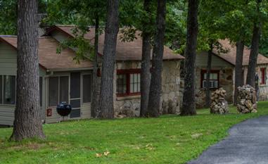 Crystal Cove Resort on Lake Norfork, Arkansas